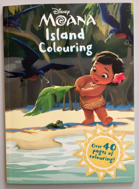 Disney Moana Island Colouring : Over 40 Pages of Colouring!