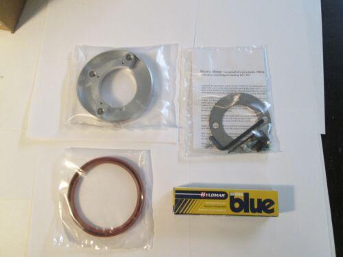 "New Rear Crank Seal Conversion Kit Austin Healey Sprite MG Midget 1098 2/"" Crank"