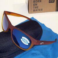 Costa Del Mar Prop Polarized Sunglasses-sunset Fade/blue Mirror 400g Glass Lens