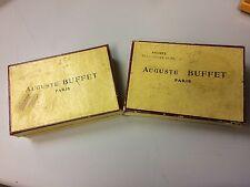Large Lot of Vintage Open Box Auguste Buffet Paris Alto Saxophone Reeds