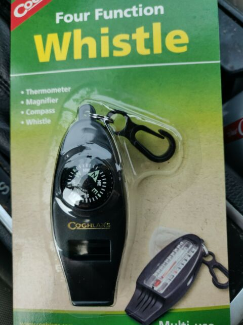 Coghlan/'s Four Function Camping Emergency Whistle #0044