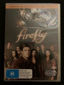 Firefly-Complete-Season-Collection-DVD-2006-4-Disc-Set-Region-4-NEW-SEALED