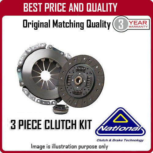 CK9883 NATIONAL 3 PIECE CLUTCH KIT FOR LANCIA MUSA