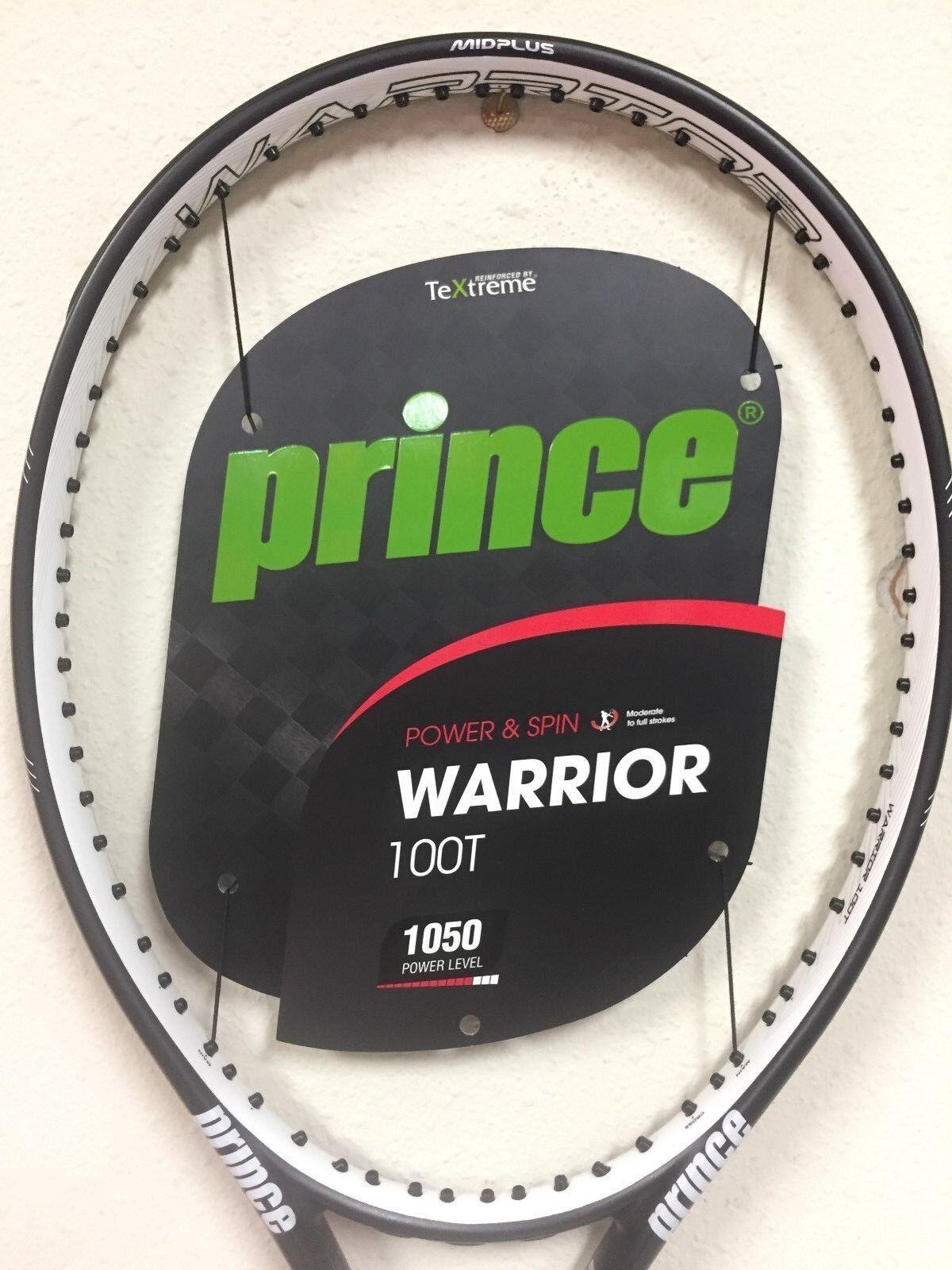 Prince Warrior 100T Tennis Racquet Grip Size 4 3/8