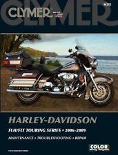 2006-2009 Harley Davidson FLH FLT Touring Clymer Repair Service Shop Manual M252