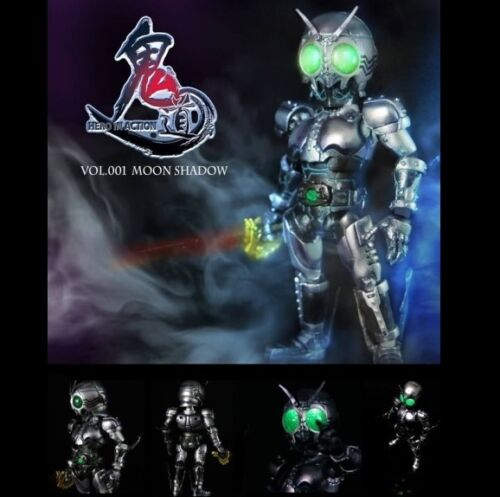 MOON SHADOW Action Figure Kamen Masked Rider Hero in Action Ghost Toys 001