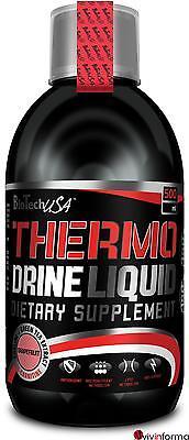 THERMO DRINE LIQUID - Biotech Termogenico bruciagrassi 500ml Pompelmo