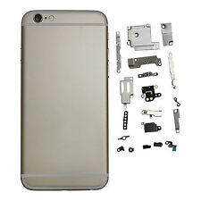 Para Iphone 6 4.7 Pulgadas chasis Carcasa posterior montaje completo con piezas pequeñas de Oro
