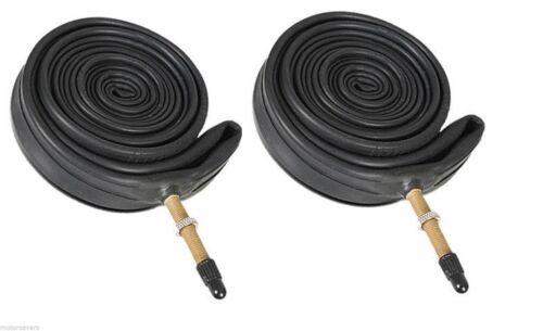 """2 x qualité 48mm presta valve cycle vélo tubes 37-622 26/"""" x 1 3//8 650x32-47b"""