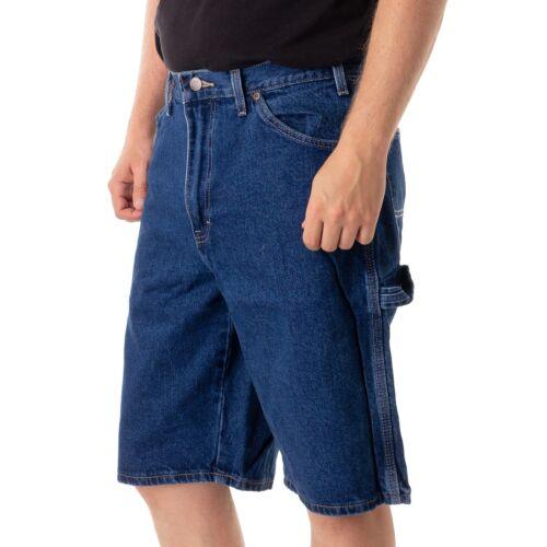 """Dickies 11/""""Carpenter Jeans Short Herren kurze Hose stone wash 15918"""