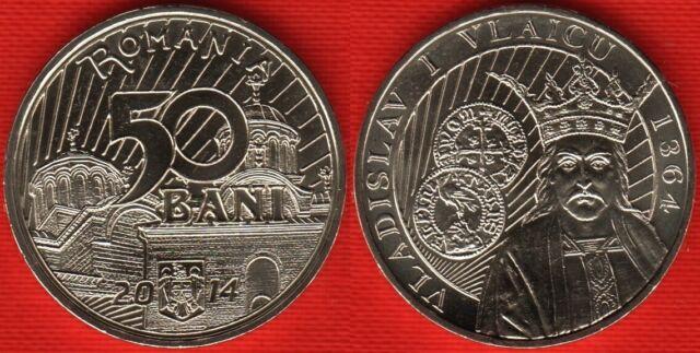 50 Bani Aurel Vlaicu Romania C028a 2010 UNC coin