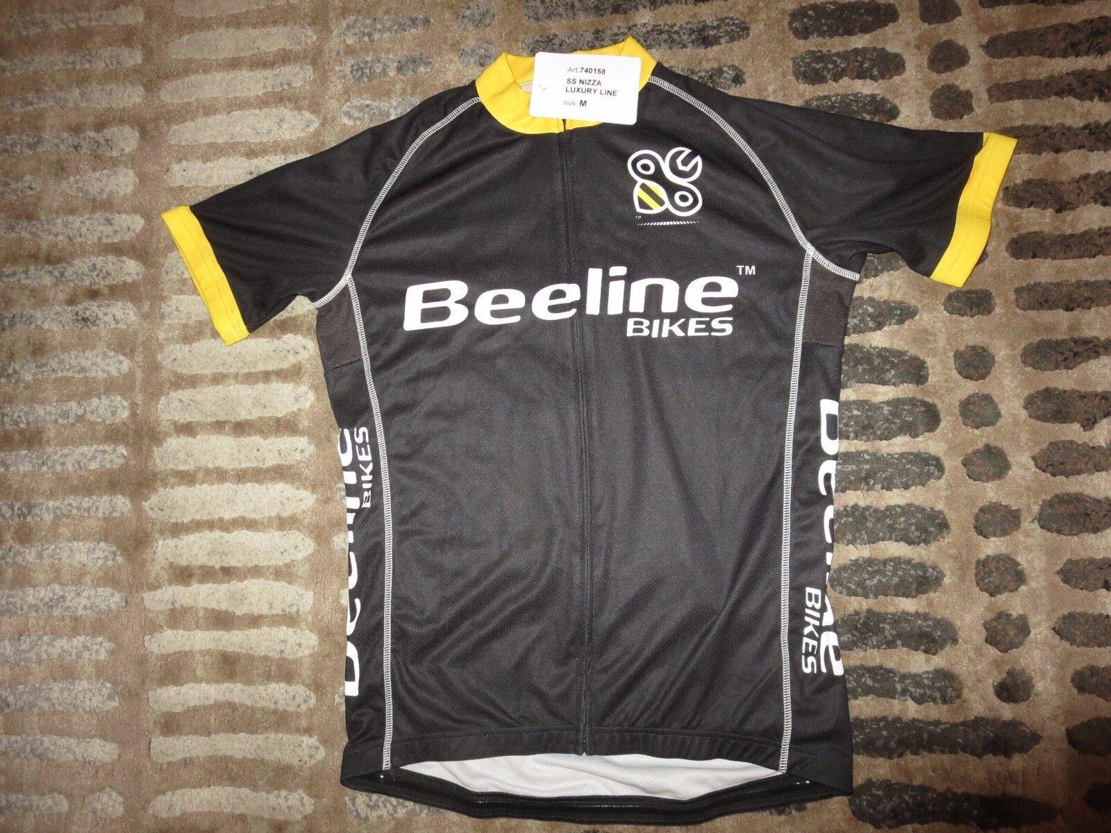 Beeline Bikes Ciclismo Biciclette Maglia Bavaglino M MEDIA Nuovo