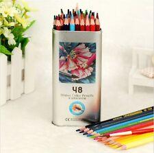 Colored Pencils 48-color Art Drawing Pencils for Artist Sketch (48 Pencils)