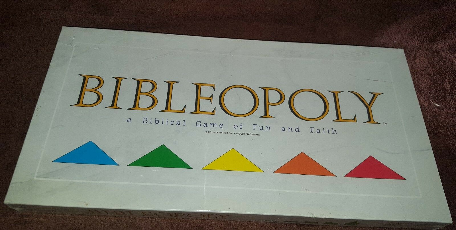 Bibleopoly a Biblical Game of Fun and Faith Board Game Game Game BRAND NEW SEALED d8d5d1