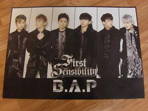 B-A-P-FIRST-SENSIBILITY-TYPE-A-ORIGINAL-POSTER-NEW-K-POP-BAP