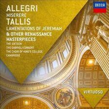 Virtuoso Series: Allegri Miserere / Tallis Lamentations of Jeremiah & Other Rena