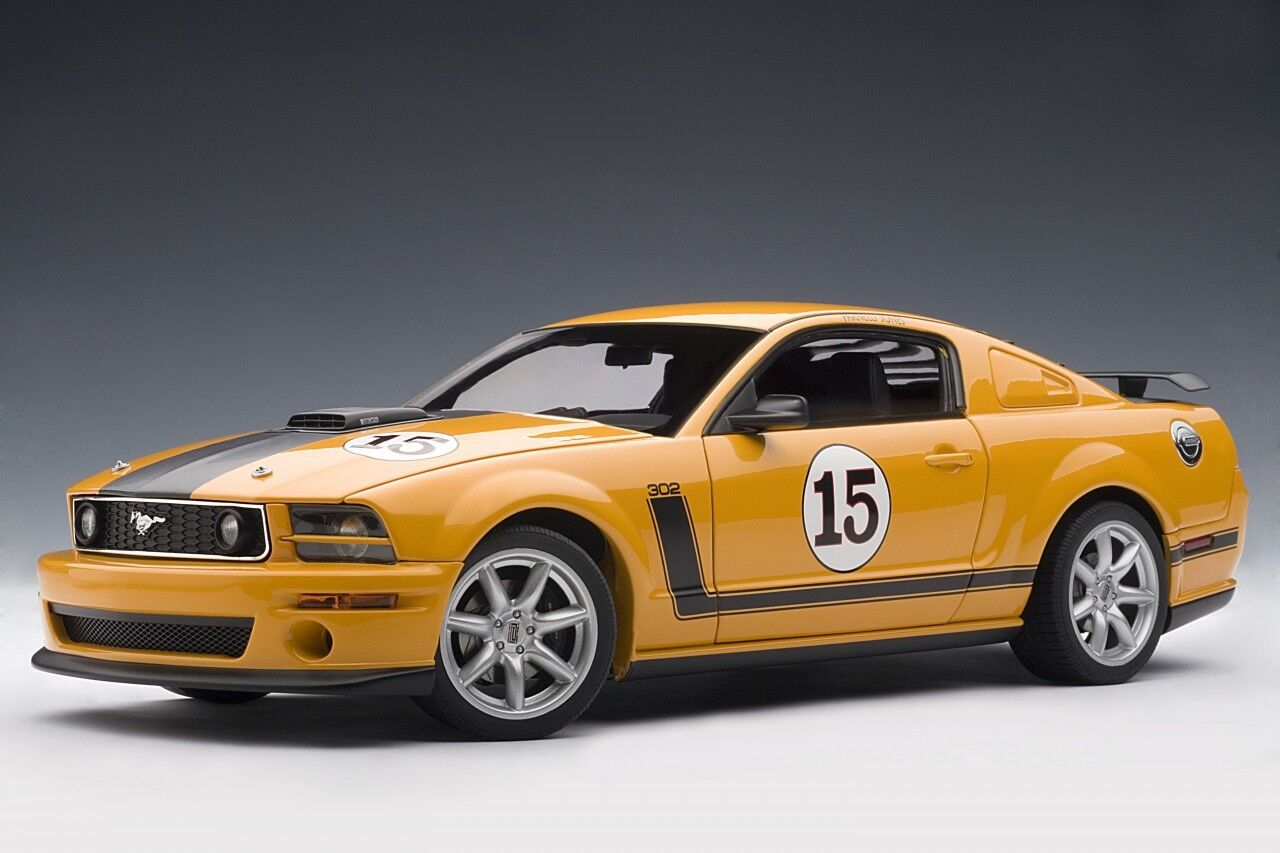 2007 Ford Mustang Parnelli Jones Saleen échelle 1 18 AUTOart RARE