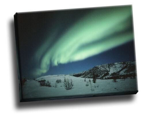 Dancing Northern Lights, Alaska Giclee Canvas Storm Picture Wall Art