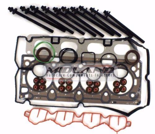Vauxhall Astra Vectra Zafira Z18XER 1.8 cabeza junta conjunto Y Pernos Cabeza Nuevo *