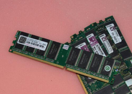 QTY 1 X 512MB PC2700 333Mhz DDR Samsung HY Kingston RAM MEMORY