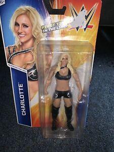 WWE Wrestling Mattel Basic Series 55 Charlotte Flair Figure NXT Diva