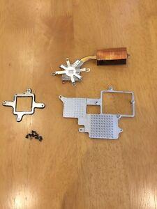 CPU-Cooling-Heatsink-and-Heatsink-Plate-Brackets-for-HP-Compaq-NC6000-Working