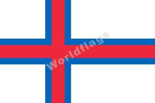 Denmark Flag 3X5FT Bornholm Faroe Greenland Capital Region Central Zealand
