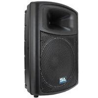Powered 15 Seismic Audio Pa Dj Speaker Active on sale
