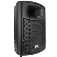 Powered 15 Seismic Audio Pa Dj Speaker Active on sale