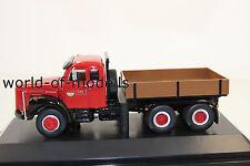 XX NZG 5821/1 Scania LT 110 mit Pritsche 3achs Techno San 1:50 NEU in OVP XX