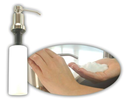 Jax/&Henry Premium Foaming Soap DispenserStainlessDeck MountTop Fill