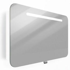 VICCO-LED-Spiegelschrank-80-90cm-Weiss-Hochglanz-Badspiegel-Badschrank-AUSWAHL