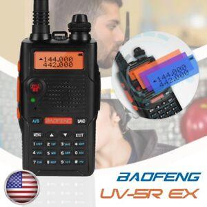Baofeng-UV-5R-EX-5W-Dual-Band-VHF-UHF-Two-Way-Radio-FM-TOT-Walkie-Talkie