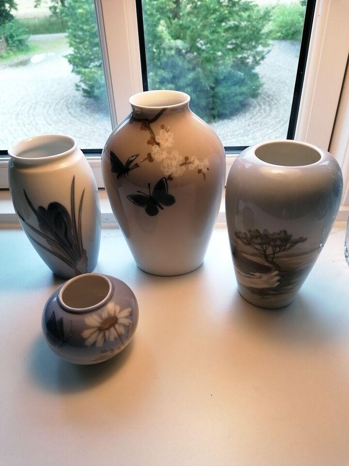 Vase, Porcelænsvase, Royal Copenhagen 2688/42A