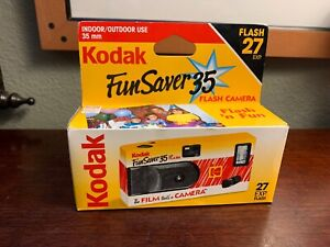 Vintage-Kodak-Fun-Saver-35mm-The-Film-That-s-A-Camera-27-Exposures-New-Exp-1999