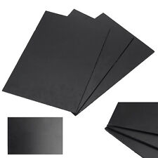 1PC Black Durable ABS Styrene Plastic Flat Sheet Plate 300 x 200 x 3mm