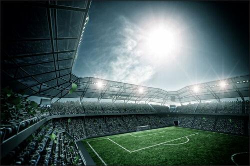 VLIES FOTOTAPETE XXL TAPETE Fußball Stadion Sport 12093