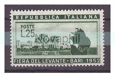 ITALIA  1952 -  FIERA DEL LEVANTE BARI   NUOVO **