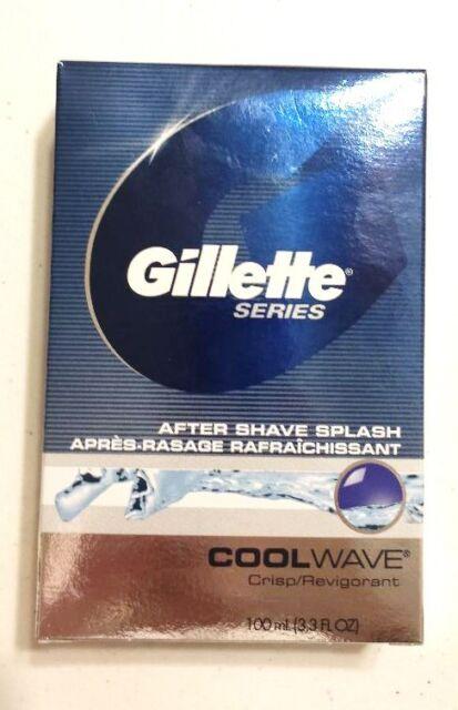 Gillette Series After Shave Splash Cool Wave 3.3 fl oz. 100 mL
