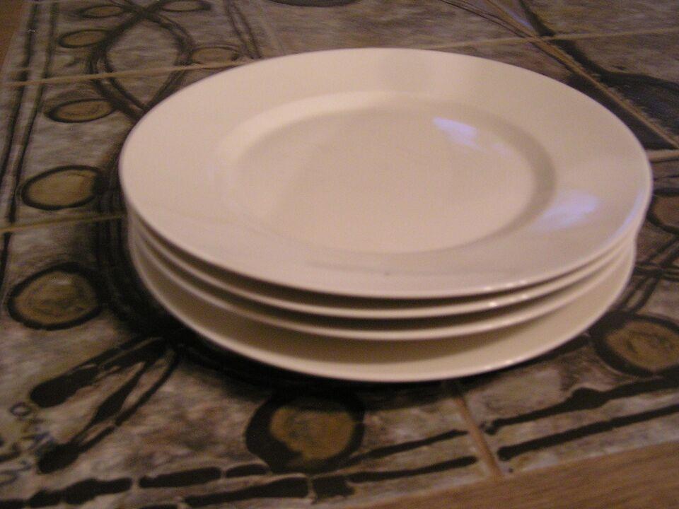 Porcelæn, frokost tallerkner, Kgl. porcelæn