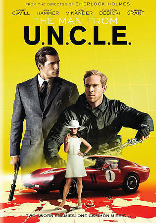The Man From U N C L E Dvd 2015 For Sale Online Ebay