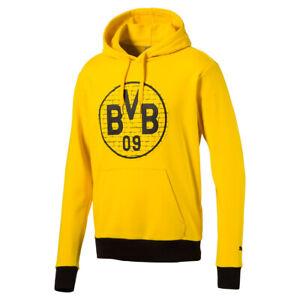 PUMA HERREN BVB Fan Sneaker schwarz Neu EUR 29,95