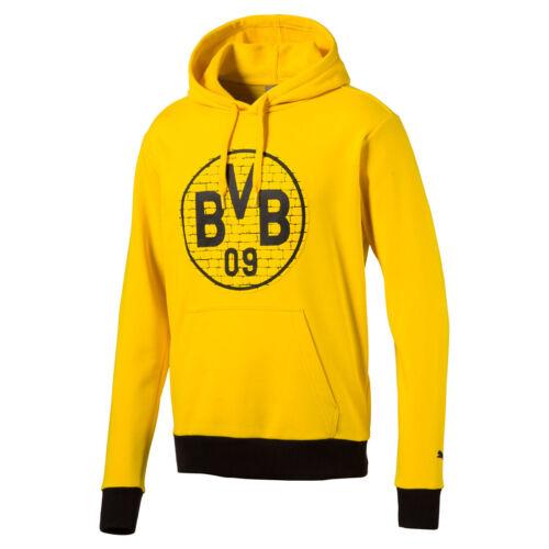 Puma Bvb Fan Sudadera Borussia Dortmund 09 Sudadero Hombre 752863 11