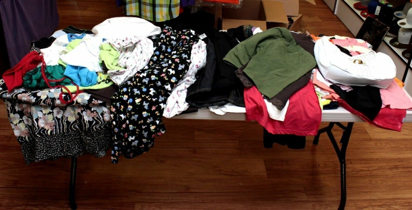 NEW WHOLESALE LOT WOMEN MIX CLOTHS MIX SIZE NO. 16 TOTAL 84PCS