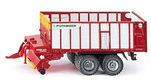 Siku-1971-Granjero-Pottinger-Jumbo-Agricultura-Modelo-Colgante-Vehiculo-de-Carga