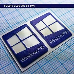 Details About 2 X Windows 10 Sticker Stickers Luminoscent 250 Minutes Of Self Ilumination Show Original Title