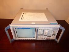 Rohde Amp Schwarz Cmu200 Universal Radio Communication Tester Analyzer Loaded