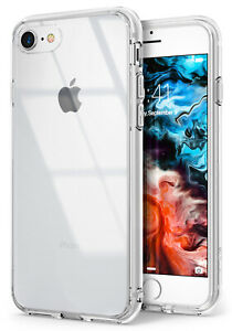 For iPhone SE 2020 / 8 / 7 Case   Ringke [Fusion] Clear PC + TPU Cover