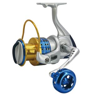 Mulinello da pesca a spinning in mare OKUMA CEDROS CJ65 big game tonno lecce