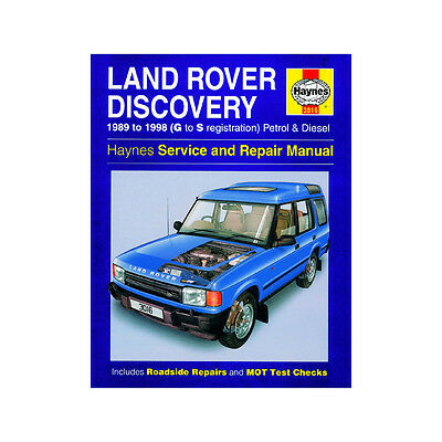 Haynes Land Rover Discovery V8 Petrol 2.5Tdi Diesel 1989-1998 Manual 3016 NEW